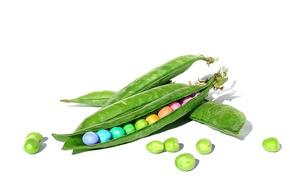 Picture macro, background, peas