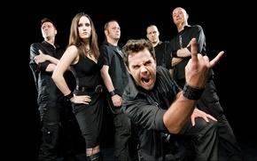 Picture Germany, Van Canto, Bastian Emig, Stefan Schmidt, A Capella Hero Metal, Inga Scharf, Ross Thompson, …