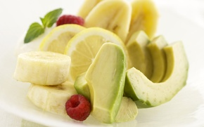 Picture food, fruit, banana