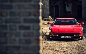 Picture car, red, ferrari, Ferrari F355, F355