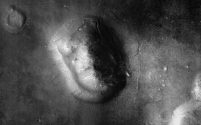 Picture surface, face, Mars, Cydonia