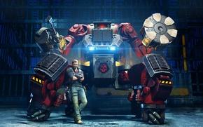 Picture Lights, Robot, Light, Square Enix, DLC, Rico, Just Cause 3, Avalanche Studios, Mech Land Assault, …