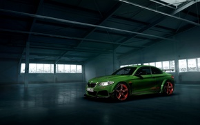 Picture Auto, BMW, Green, Machine, Tuning, Car, Schnitzer, 2016, ACL2