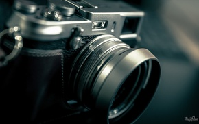 Picture background, camera, Fujifilm X100S
