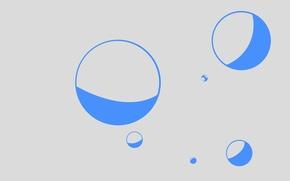 Picture color, round, ball, bubble