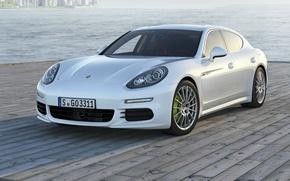 Picture Porsche, Panamera, promenade