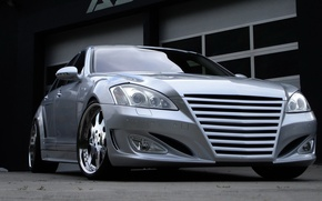 Picture tuning, Mercedes, grey, Mercedes S-class