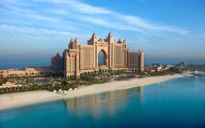 Picture the city, Atlantis, Wallpaper, Palma, wallpaper, Dubai, the hotel, SEA, the hotel, Jumeirah, UAE, Atlantis, ...