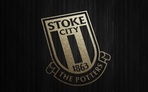 Picture football, England, gold wallpaper, Stoke City