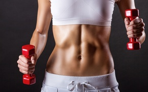 Picture women, fitness, abs