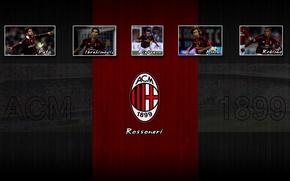Picture football, AC Milan, Rossoneri