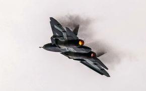 Picture Figure, fighter, Russia, T-50, Aviation, BBC, multipurpose, PAK FA, Turbine