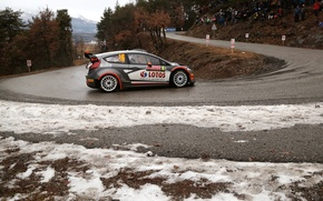 Picture Ford, Ford, WRC, Rally, Rally, Fiesta, Kubica, Monte Carlo