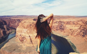 Wallpaper russian, canyon, Alexander Tikhomirov, Russian, photography, girl, photographer, girl, model, Mary Shum, photographer, model, Alexander ...