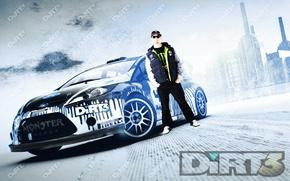 Wallpaper Racing, ken block, Dirt 3