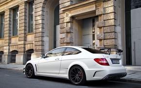 Picture white, mercedes, Mercedes, AMG, benz, benzo, black series