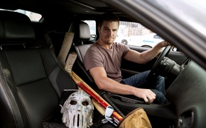 Picture car, Casey Jones, Casey Jones, Stephen Amell, Stephen Amell, Teenage Mutant Ninja Turtles:out of the …