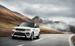 Picture movement, speed, track, Range Rover, Sport, Overfinch