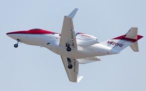 Wallpaper HA-420, twin-engine, business class, Honda Jet, jet, Honda, the plane