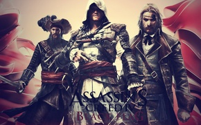 Picture Assassin's Creed, Black Flag, Edward Teach, Edward Kenway, Assassin's creed