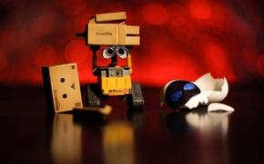 Picture macro, box, victory, robot, danbo, WALL-E