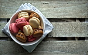 Picture table, the sweetness, cookies, plate, dessert, Macaron