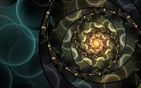 Wallpaper bokeh, art, abstraction, circles, pattern, art