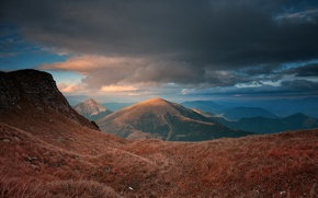 Picture clouds, mountains, mountain, Nature, the sky, sky, nature, landscape