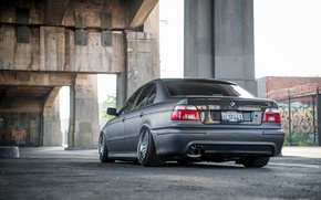 Picture lights, tuning, BMW, carbon, carbon, stance, bmw e39