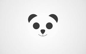 Picture music, relax, white, panda, chillstep