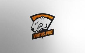 Picture Logo, Game, Team, Minimalism, CSGO, Virtus.pro, Counter-Strike: Global Offensive, CS:GO, vent designs, Esports