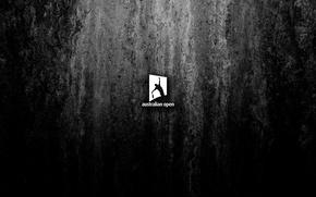 Picture white, background, black, sport, stone, minimalism, texture, logo, wallpaper, sport, logo, high resolution, tennis, 2016, …