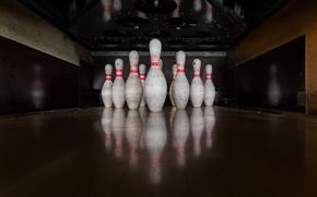 Wallpaper sport, bowling, skittles