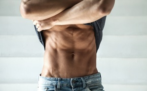 Wallpaper sexy, tight t- shirt, men, abs, muscles