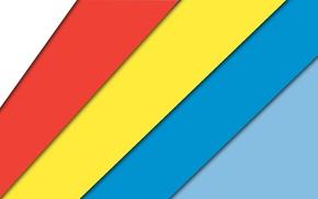 Picture blue, red, strip, blue, texture, color