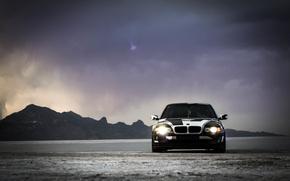 Picture BMW, Tuning, BMW, winter, Alpina, E38, 740il, arctic camo, camo