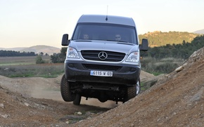 Picture off road, 4x4, Sprinter