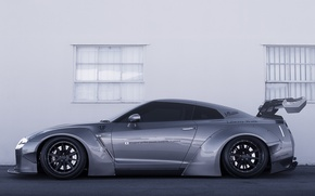 Picture Tuning, Nissan, Nissan, GT-R, Tuning, R35, Liberty Walk