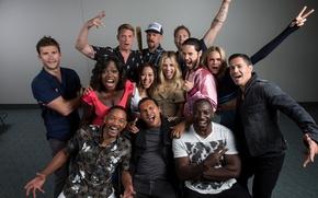Wallpaper Director, Will Smith, Jared Leto, Jai Courtney, Cara Delevingne, Joel Kinnaman, Margot Robbie, Suicide Squad, ...