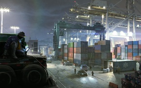 Picture art, Ubisoft, PS4, Xbox One, Watch Dogs 2
