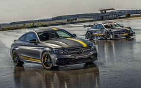 Picture Mercedes-Benz, Coupe, 2014, AMG, C 63, C-Class, Mercedes, AMG, C205