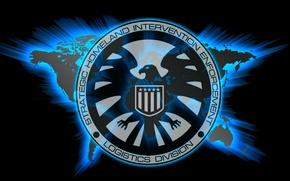 Picture world, logo, spy, Marvel, eagle, series, falcon, S. H. I. E. L. D., Agents of ...