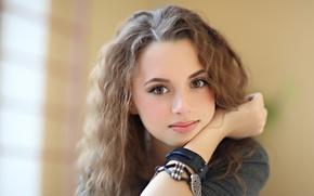 Picture portrait, singer, Anna Gurieva