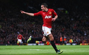 Picture Football, Manchester United, Goal, Fotball, Robin van Persie, Dream Theater, Theatre of Dreams, Player, Old ...
