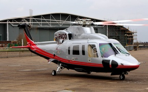 """Picture helicopter, American, Sikorsky, commercial, """"Spirit"""", S-76, Sikorsky S-76 """"Spirit"""""""