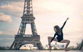 Picture girl, Paris, dance, Josephine Sapin