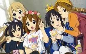 Picture Mio Akiyama, Kotobuki Tsumugi, Nakano Azusa, K-On! Japanese high school girls, Tainak To Knighty, Hirasawa …