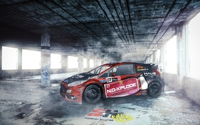 Picture ford, rally, wrx, fiesta, worldrx, rally cross, nelson piquet jr