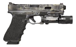 Picture gun, Austria, flashlight, Glock, self-loading