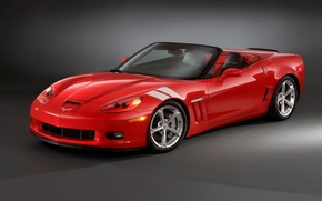 Wallpaper red, corvette, Chevrolet